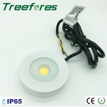 3W 110V 220V 240V IP65 Triac Dimmable Mini Led Bulb Downlight Lamp 80Ra Cabinet Lighting Home Interior Outdoor Light