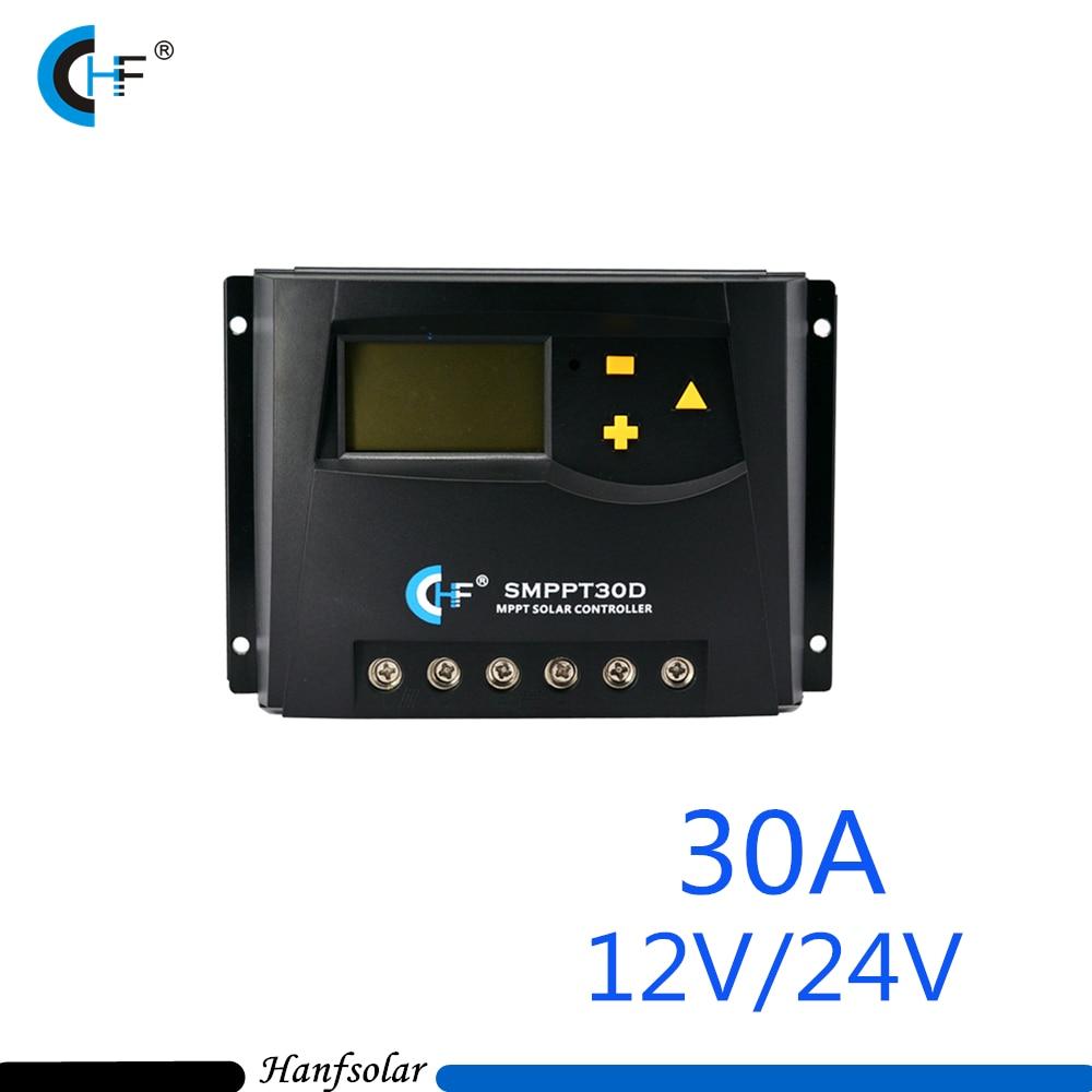 12V 24V MPPT 30A Solar charge controller with CE ROHS Real MPPT Function SMPPT30D оборудование распределения электроэнергии willsee 12v 24v 60a ce rohs diy c 2460