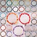 """Смешанный природный чип бусины песчаника обсидиан кристалл оболочки гранат родонит кристалл джаспер турмалин растянуть браслет 8 """" 1 шт."""