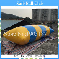 Free Shipping Crazy Inflatable Blob Jump Water Toys,Water Trampoline ,inflatable water catapult