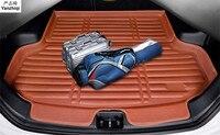 Fit Voor Hyundai IX45 Santa Fe 5 Zits 2013 2014 2015 2016-2018 Kofferbak Floor Mat Cargo Tray boot Liner Tapijt Protector