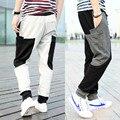 Autumn New Casual Hip Hop Dance Harem Baggy Tapered Sweat Pants Trousers Mens Skinny Sweatpants