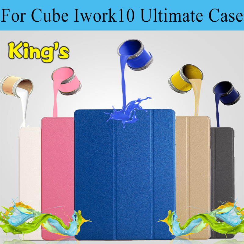 For Cube IWORK 10 Ultimate stand Case,cover for Cube iwork10 Flagship 10.1 inch tablet+stylus+phone holders free shipping(China)