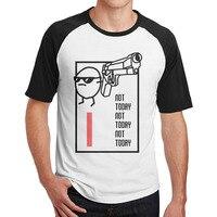 Man Nope Not Today Lazy Day Sassy Attitude Round Neck Raglan Short Shirts Tee Cotton Raglan