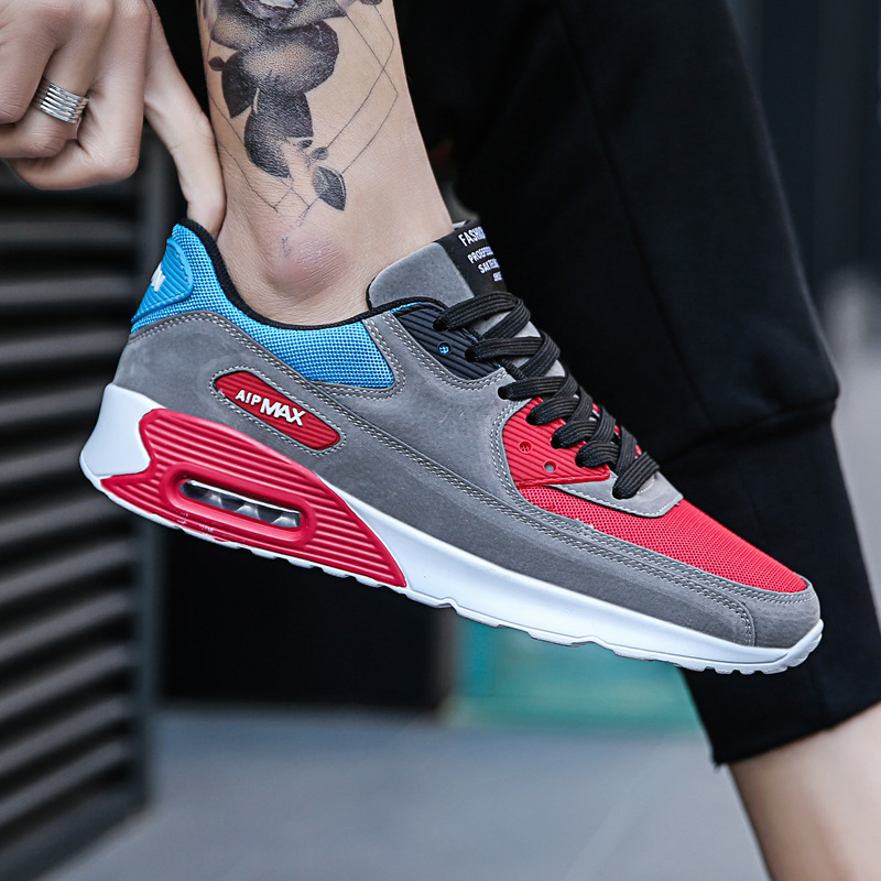 8b824d88364842 new Spring Korean marseille couple sports running shoes Forrest Gump shoes  men breathable cushion jogging shoes