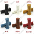 "6Color Vintage Cafe Racer 7/8"" 22mm Motorcycle Vintage Handlebar Grip for DEUS Triumph Yamaha Kawasaki CG125 CB400 Free Shipping"