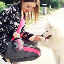 Pet Dog Puppy тренировочные поясные сумки для лакомства закуска сумка для корма приманка-корм Пояс Карманный Мини Открытый поясной мешок