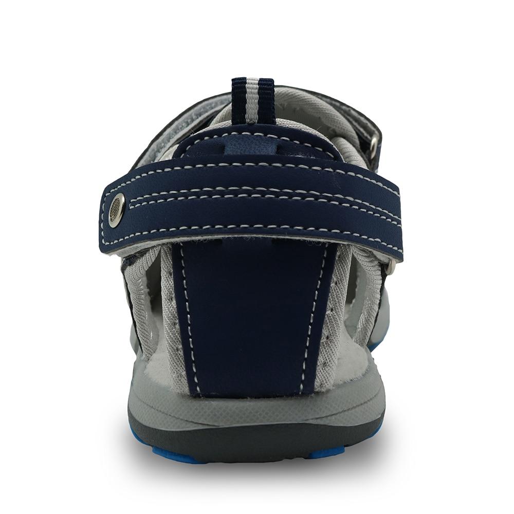 Apakowa 2017 capretti di estate scarpe da spiaggia con plantare punta  chiusa sandali per i ragazzi del bambino del progettista Ragazzi sandali  Bambini ... 873629cd293