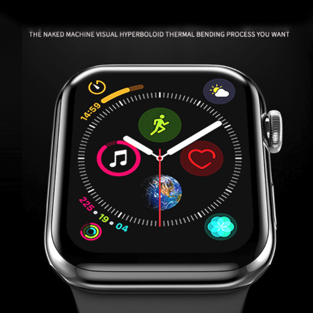 Image 4 - 3D Curved Full Coverage Protective Film For Apple Watch 38mm 40mm 44mm 42mm Tempered Glass Screen Protector Cover for iWatch-in Smart Accessories from Consumer Electronics