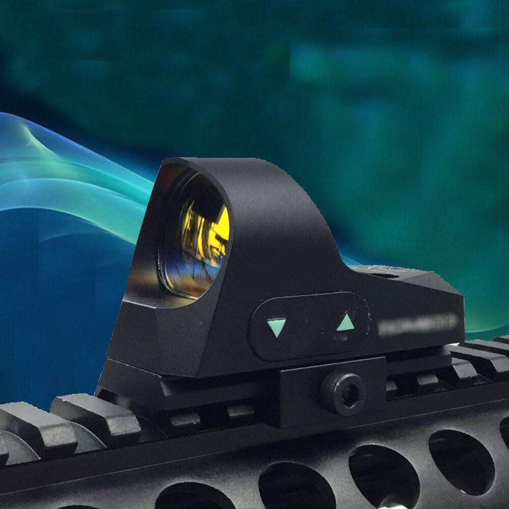 WIPSON ROMEO3 1x25 Mini Reflex Sight Shotgun 3 MOA Dot Reticle Red Dot Sight Scope Picatinny QD Mount for MSR Rifles Carbines acog style reflex 1x24 moa red dot sight auto dimming w 20mm rail mount