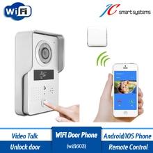 ACTOP Wifi603 Wi-Fi видео-телефон двери дверь камеры беспроводной дверной звонок interfone со считывателем RFID карт для доступа двери безопасности
