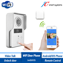 ACTOP Wifi603 WiFi video door phone door camera wireless doorbell interfone with RFID card reader for door access security