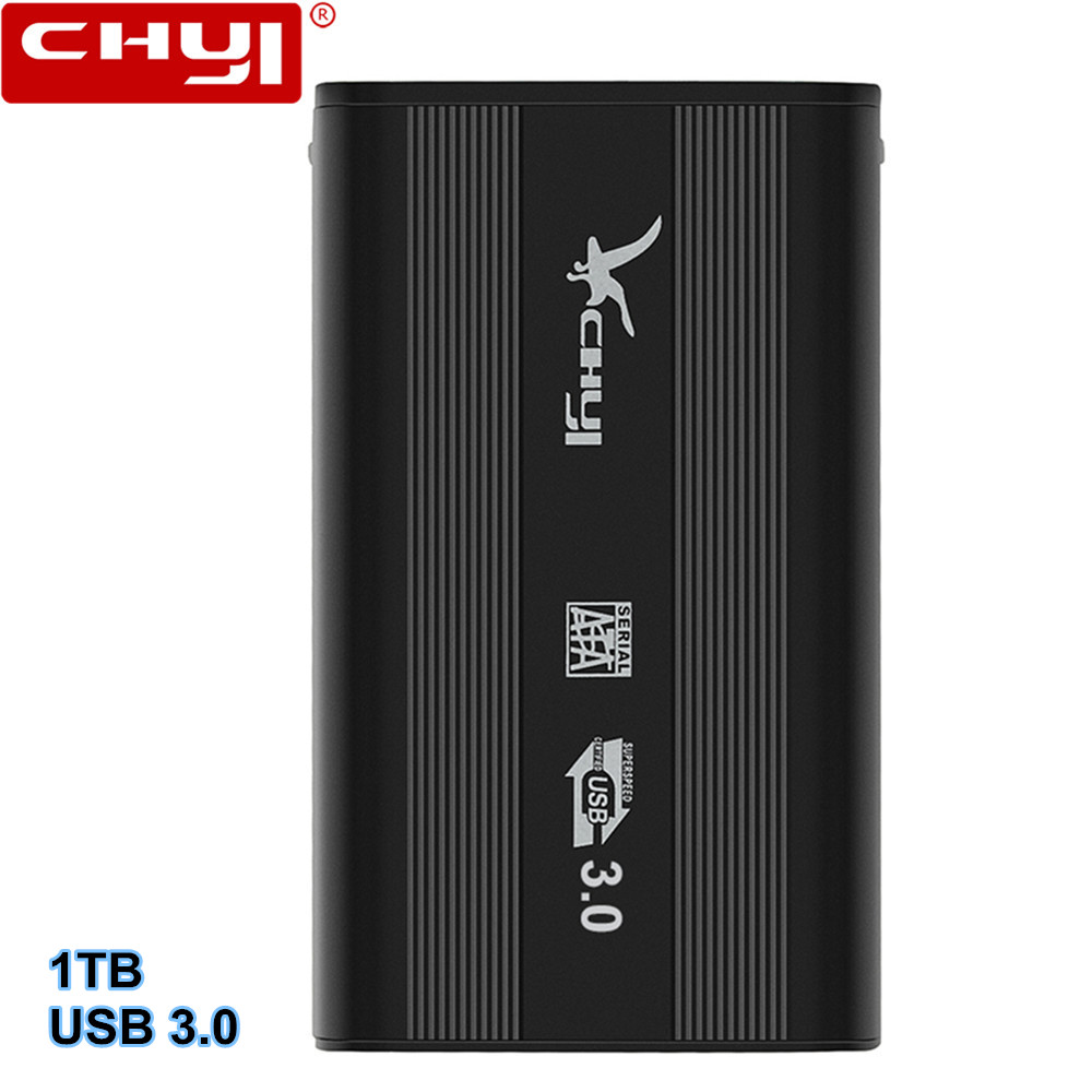 NEW External Hard Drive 1TB HDD USB 3.0 External HD Disk Storage Devices for Computer Laptop Desktop Hard Disk 2.5 inch for lenovo ideapad g700 g710 g780 g770 17 3 inch laptop 2nd hdd 1tb 1 tb sata 3 second hard disk enclosure dvd optical drive bay