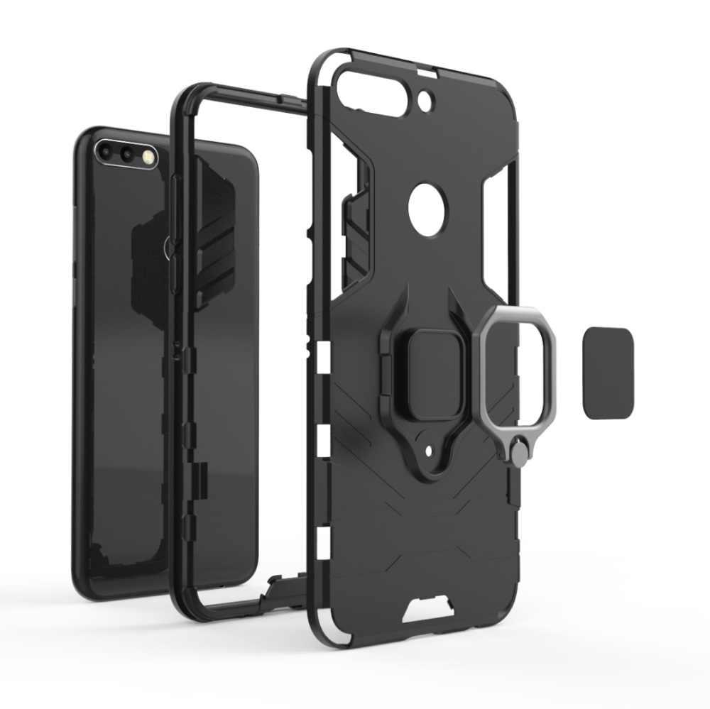 Case For Huawei Y6 Y7 Prime Y9 2018 2019 Kickstand Cover For Huawei P Smart ZPlus 2019 Nova 5 5i 3 3e 3i 4 4e Phone Case