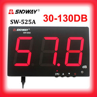 SNDWAY Sound level meters 30~130db noise meters high function data radar detector sonometros digital metro decibel db meter