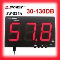 SNDWAY Sound level meters 30~130db noise meters high function data radar detector sonometros digital metro decibel db meter