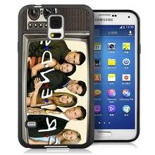 Amigos televisión retro cajas del teléfono celular para samsung s4 s5 s6 s7 edge plus Nota 3 Nota 4 Nota 5 Nota 7 TPU Suave Piel de La Espalda cubierta