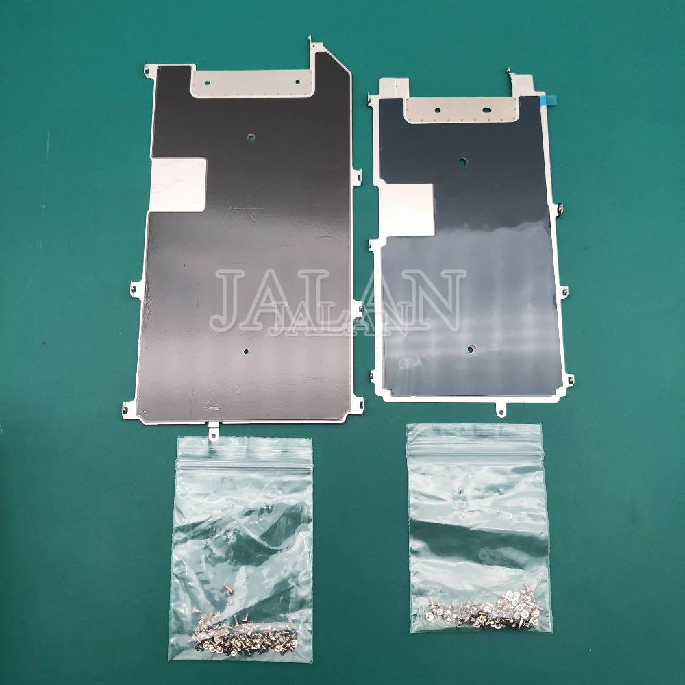 2pcs For phone 6s/6s plus LCD Screen Back Metal Plate Shield with Home Button Expand replacement mobile phone repair refurbish image