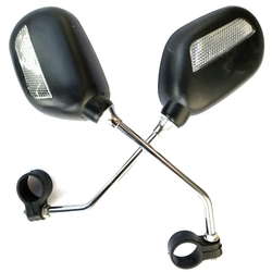 1 para rower lusterko wsteczne bezpieczeństwo rower lusterko wsteczne regulowane lusterko wsteczne lewego prawego lusterka