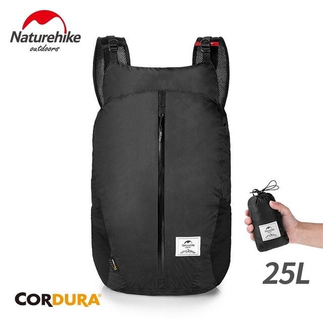 NatureHike Cordura Lipat Ransel Militer Tahan Air Ransel Berkemah Mendaki Alam Mendaki NH18B510-B