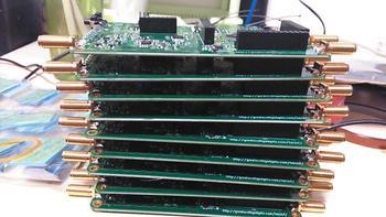 Hackrf one, has arrived, SDR platform 1M-6G, and component package welding kit.