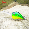 1PCS Fishing Lure Deep Swimming Crankbait 9.5cm 11.5g Hard Bait 5 Colors Available Wobbler Slow Floating Fishing Tackle