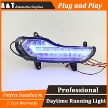 A T car styling For Ford kuga LED DRL For kuga led fog lamps daytime running