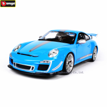 Bburago 1:18 Porsche 911 GT3 RS Alloy Retro Car Model Classic Decoration Collection gift