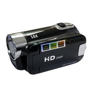 Image 5 - Full HD 1080P Цифровая видеокамера 2,7 дюймов ЖК экран Цифровая камера 16X цифровой зум анти встряхивание DV DVR видеокамера