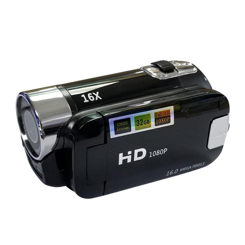 Image 4 - Full HD 1080P Digital Video Camera 2.7inch LCD Screen Digital Camera 16X Digital Zoom Anti shake DV DVR Video Recorder Camcorder-in Point & Shoot Cameras from Consumer Electronics
