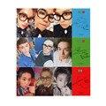 KPOP EXO Youpop CBX Hey Mama K-POP Tarjeta Auto Hecho Tarjetas De Papel Álbum de Fotos Autógrafo la Tarjeta Fotográfica XK388