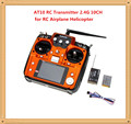 HOT SELLING RadioLink AT10 RC Transmitter 2.4G 10CH Remote Control System with R10D Receiver for RC Airplane Helicopter