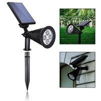 New Style Garden Lawn Lamp Light 5V Solar Power Outdoor LED Spike Light Waterproof Path Landscape Waterproof Spot Bulbs