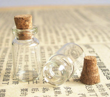 Free Shipping - 50/lot 1ml mini glass bottle, 1cc sample vial,wishing bottle,0.5ml,2ml,3ml till 1000ml is available