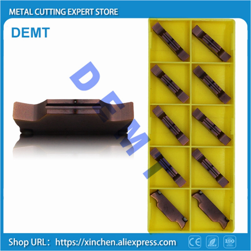 Image 4 - Fine grinding Slot Cutting Inserts MGGN150/MGGN200/MGGN250/MGGN300/MGGN400/Cutter carbide hard alloy blade for stainless steel-in Turning Tool from Tools