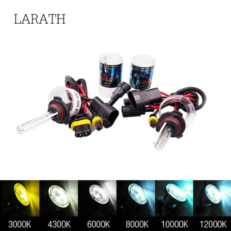 2pcs 55W H1 H3 H7 H27 H8 Xenon Bulbs For Single Beam HID Installation 3000 4300 6000K 8000k 10000k 30000k Pink Yellow Blue White