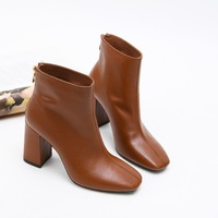 DorisFanny Genuine Leather chelsea boots High quality women boots 2018 ankle boots for women winter footwear