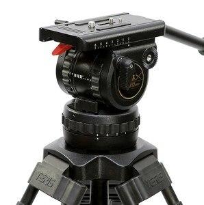 Image 3 - TERIS TRIX TS120 Professionele Statief Fluid Head 100mm kom Belasting 12KG voor Video camcorder statief Film RED Scarlet epic