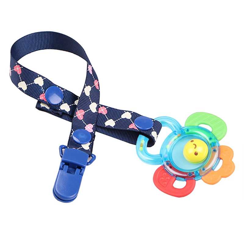 Baby Pacifier Chain Anti-Drop Strap Baby Safety Seat Cart Supplies Anti-Dirty Rope Pacifier Chain Holder