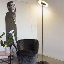 Modern Standing Lamp Living Room Reading Coffee Study Japanese Style Floor Bar Dining Loft Deco Art Metal Lights