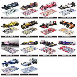 1/10 F1 Racing Car Decal for BWT buzzin hnas reedbull(China)