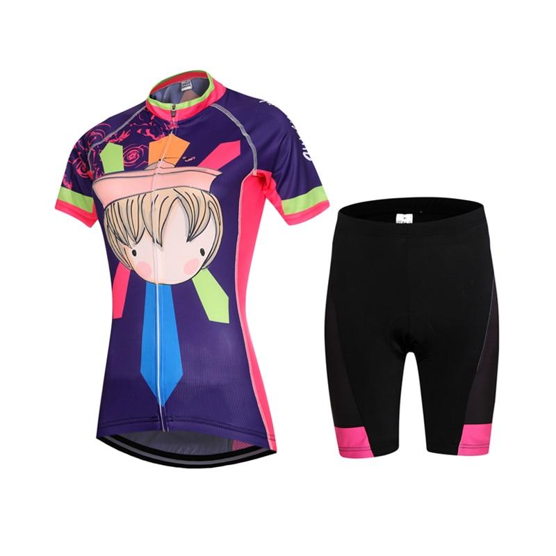 8ca46cd972b The New 2016 cycling jersey short sleeve women only ropa cycling style  summer mtb sport shirts bike cycling bike clothing