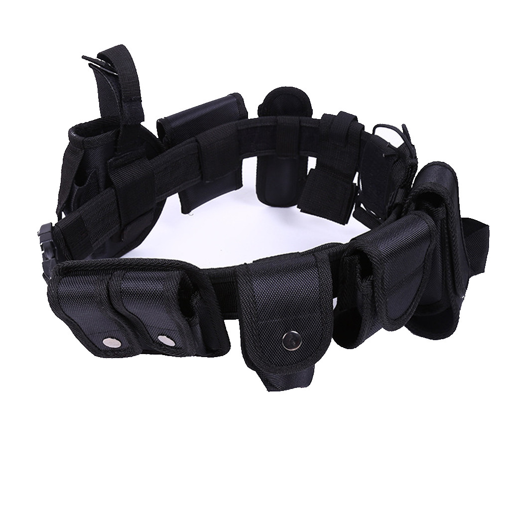 Black Belts Cloth Enforcement-Equipment Security-Guard Police 1680D Oxford Nylon Tactical-600