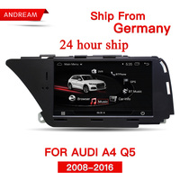 7 Android 4.4 Car Multimedia for AUDI A4(2008 2016 B8) Q5(2010 2016) Bluetooth Gps Navigation Wifi