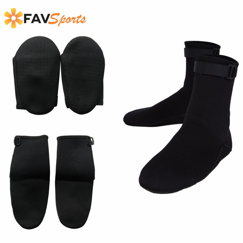 Unisex 1.5mm Scuba Neoprene Diving Socks Snorkeling Diving Boots Water Sports Swimming Surfing Shoes Socks