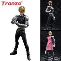 Tronzo Action Figure 15cm One Punch Man Figure PVC SHF Genos Figure Toys Hero Saitama GT Collectible Model Gift For Boy Girl