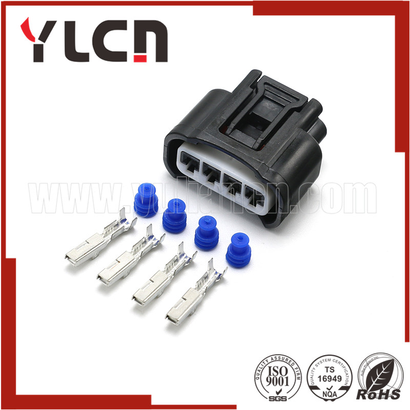 Free Shipping 4 Pin Toyota Coil Connector 90980-11885
