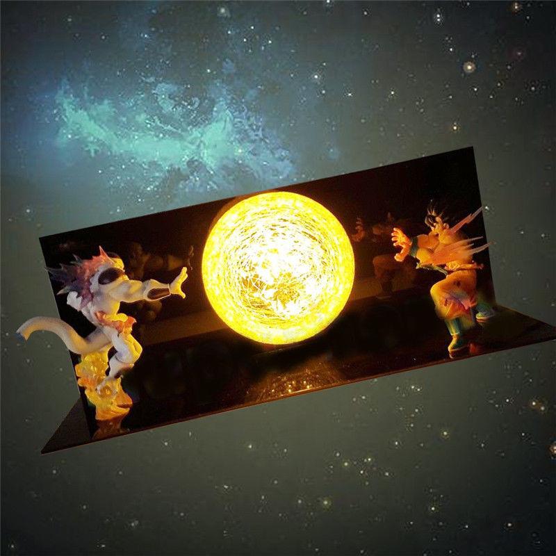 Dragon Ball Z Фигурки Гоку сон фигурка Коллекционная DIY аниме модель светодиодный светильник фигурка Подарочная коллекция игрушек - 4
