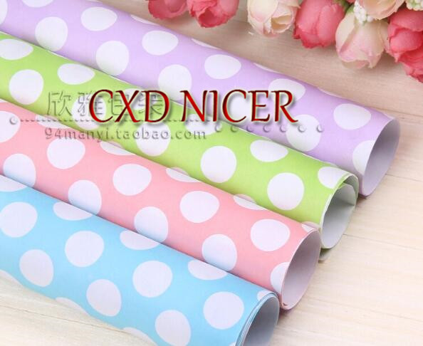 Christmas Background Paper  Paper 10sheet/lot 52*75cm Wrapping Paper Wholesale Present Paper For Wedding Decoration J19