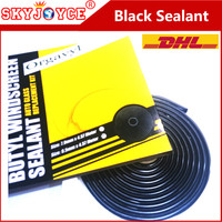 10 X Car Headlight sealant temperature silicone black butyl rubber sealant glue tape for headlight HID LED car styling accessory